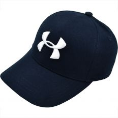 Купить Under Armour dark-blue / white logo интернет магазин