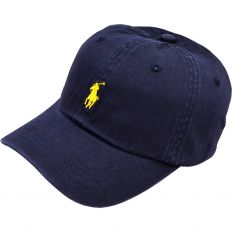 Купить Polo dark-blue / yellow small logo  интернет магазин