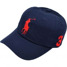 Купить Polo dark-blue / red logo интернет магазин
