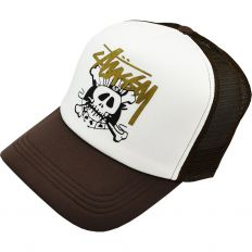 Купить Other Stussy Hats brown / white интернет магазин