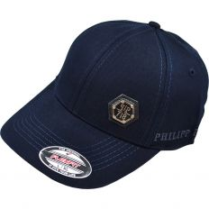 Купить Philipp Plein dark-blue / metal logo интернет магазин