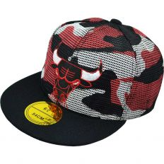 Купить Chicago Bulls детская military black / red / white интернет магазин