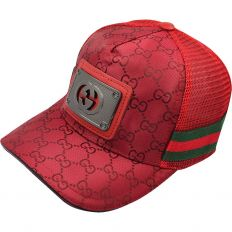Купить Gucci тракер GG metal logo / red интернет магазин
