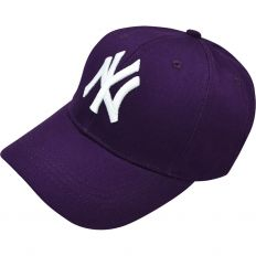 Купить New York mlb purple /white logo интернет магазин