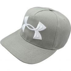Купить Under Armour light-grey / big logo white интернет магазин