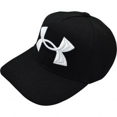 Купить Under Armour black / big logo white интернет магазин