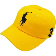 Купить Polo 3 yellow / dark-blue интернет магазин
