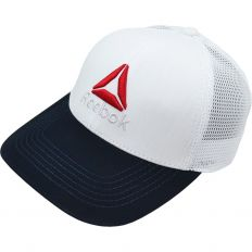 Купить Reebok white / dark-blue / red logo интернет магазин