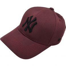 Купить New York NY 47 burgundy / black logo интернет магазин