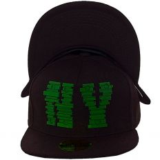 Купить New York NY black / green logo интернет магазин