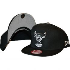 Купить Chicago Bulls Snapback black / gray интернет магазин