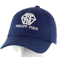 Купить Philipp Plein PP / 78 dark-blue volumetric logo интернет магазин