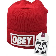 Купить Hats Obey big logo red интернет магазин