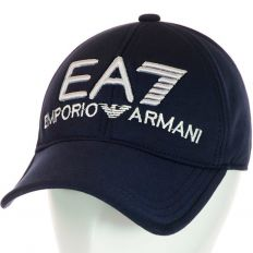 Купить Emporio Armani без застежки EA7 dark-blue / white logo интернет магазин