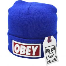 Купить Hats Obey big logo blue интернет магазин
