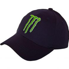 Купить Monster Energy без застежки M dark-blue / green logo интернет магазин