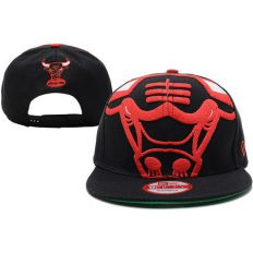 Купить Chicago Bulls NBA Snapback Black интернет магазин