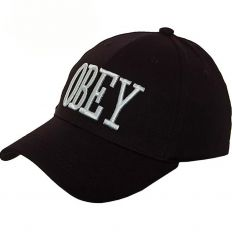 Купить Obey без застежки black / white logo интернет магазин