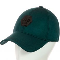 Купить Philipp Plein без застежки PP dark-green / black logo интернет магазин