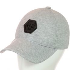 Купить Philipp Plein без застежки PP light-grey / black logo интернет магазин