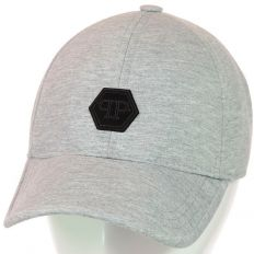 Купить Philipp Plein без застежки PP light-grey / black logo 2 интернет магазин