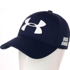 Купить Under Armour dark-blue / white big logo интернет магазин