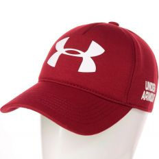 Купить Under Armour burgundy / white big logo интернет магазин