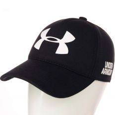 Купить Under Armour black / white big logo интернет магазин
