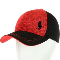 Купить Polo на липучке black / red / black logo интернет магазин