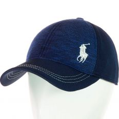 Купить Polo на липучке dark-blue / white logo интернет магазин
