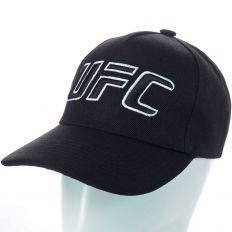Купить UFC black / big logo black/white интернет магазин