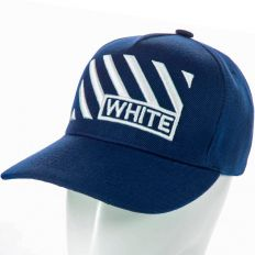 Купить Other Off White dark-blue / big white logo интернет магазин