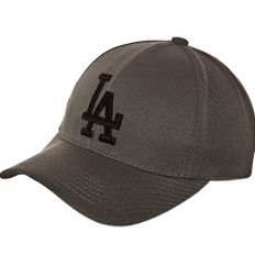 Купить LA Dodgers LA grey / black logo интернет магазин