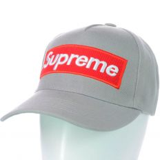 Купить Supreme light-grey / red logo интернет магазин
