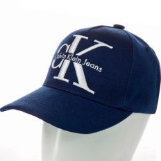Купить Calvin Klein CK dark-blue / white big logo интернет магазин