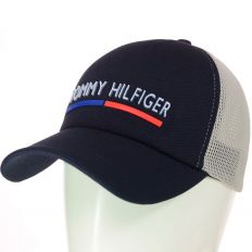 Купить Tommy Hilfiger  на липучке dark-blue / grey интернет магазин