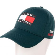 Купить Tommy Hilfiger  dark-green big logo интернет магазин