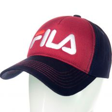 Купить Fila burgundy / dark-blue / white logo интернет магазин
