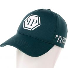 Купить Philipp Plein PP dark-green / white big logo интернет магазин