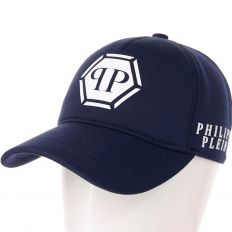 Купить Philipp Plein PP dark-blue / white big logo интернет магазин