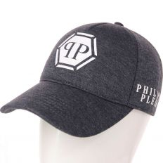 Купить Philipp Plein PP dark-grey / white big logo интернет магазин