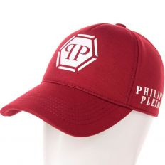 Купить Philipp Plein PP burgundy / white big logo интернет магазин