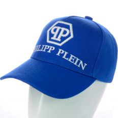 Купить Philipp Plein blue / white big logo интернет магазин