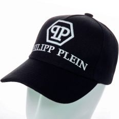 Купить Philipp Plein black / white big logo интернет магазин