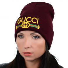 Купить Hats Gucci burgundy интернет магазин
