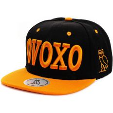 Купить OVOXO Large Inscription black/orange интернет магазин