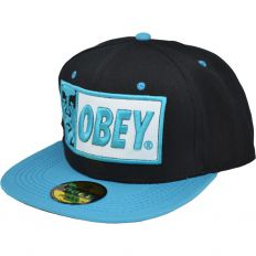 Купить Obey black / blue / green интернет магазин