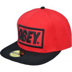 Купить Obey red / black / green интернет магазин