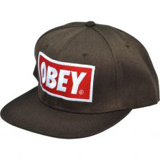 Купить Obey brown / green интернет магазин
