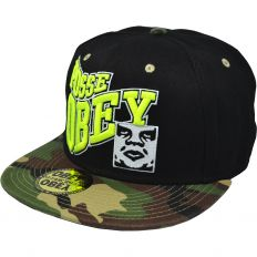 Купить Obey Pose camo / black / yellow logo интернет магазин